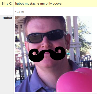 Hubot mustache me billy coover