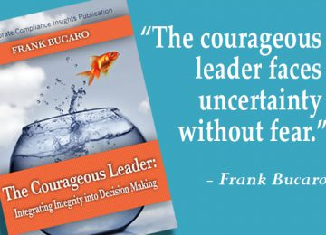The courageous leader by Frank Bucaro