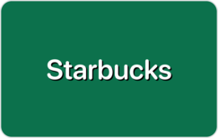 Sell Starbucks Coffee Gift Card