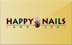 Happy Nails Gift Card - Check Your Balance Online | Raise.comHappy Gift Card Balance Check