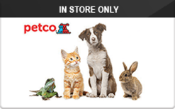 Sell Petco (In Store Only) Gift Card