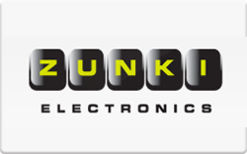 sell zunki electronics gift cards raise. Black Bedroom Furniture Sets. Home Design Ideas