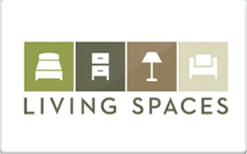 Sell Living Spaces Furniture Gift Cards Raise