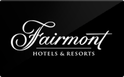 Buy fairmont hotels and resorts gift cards raise