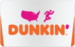 Sell Dunkin Donuts Gift Card