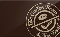 Buy The Coffee Bean & Tea Leaf Gift Cards | Raise