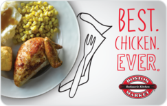 Sell Boston Market Gift Card