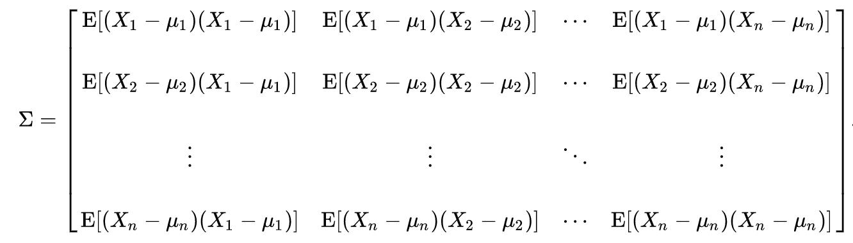 Correlation and co-variance | Python