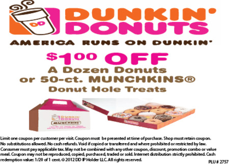 picture relating to Dunkin Donuts Coupons Printable titled Dunkin donuts discount codes december 2018 : Reasonably priced specials holiday seasons united kingdom