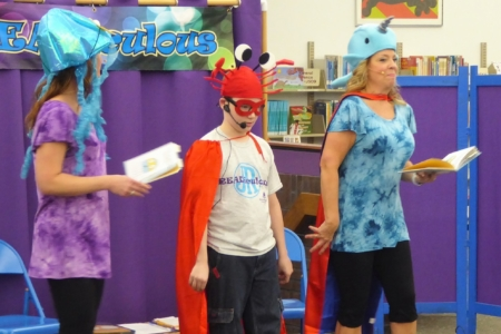 Readiculious Jr. students can participate live in Readiculious performances