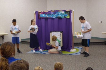 Students perform at a Readiculious Jr. class