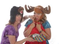 Readiculous actors Sue and Alissa