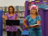 A Readiculous performance at Decatur Public Library