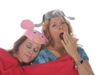 Readiculous performers Alissa Henkel and Sue Bishop