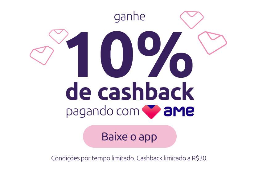 Clique aqui e baixe o app Ame pra receber 10% de dinheiro de volta!