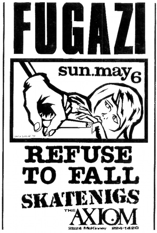 fugazi waiting room live fugazi live series houston tx usa 5 06 90 13911