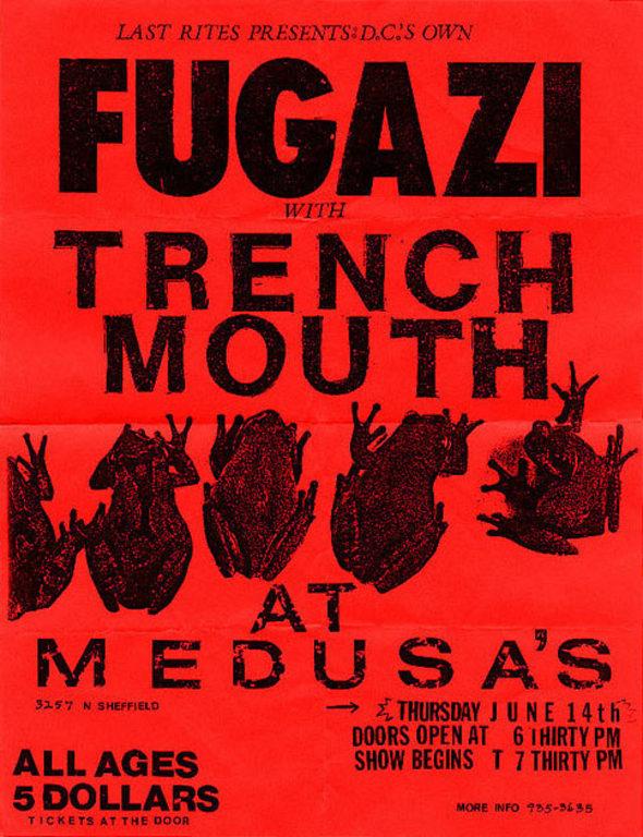 Fugazi live series chicago il usa 61490 fls0229 flyer 1 malvernweather Choice Image