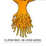 2 Legs Band. 38 Legs Good