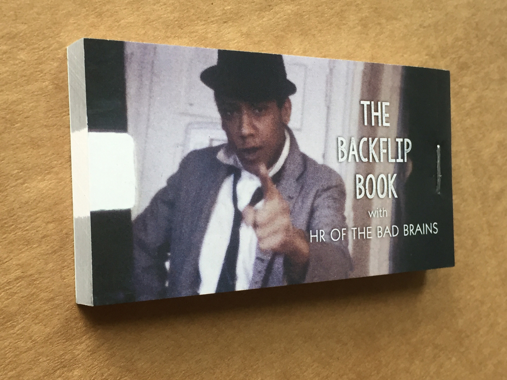Backflip Book
