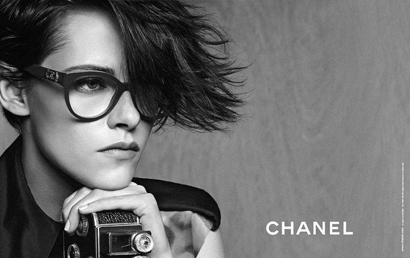 Kristen stewart chanel eyewear 2015 ad