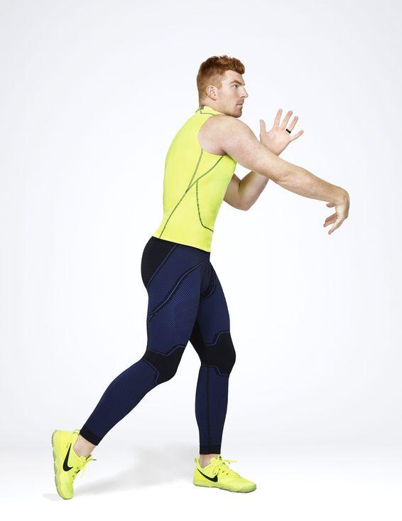 leggings nike pro 3/4 masculina