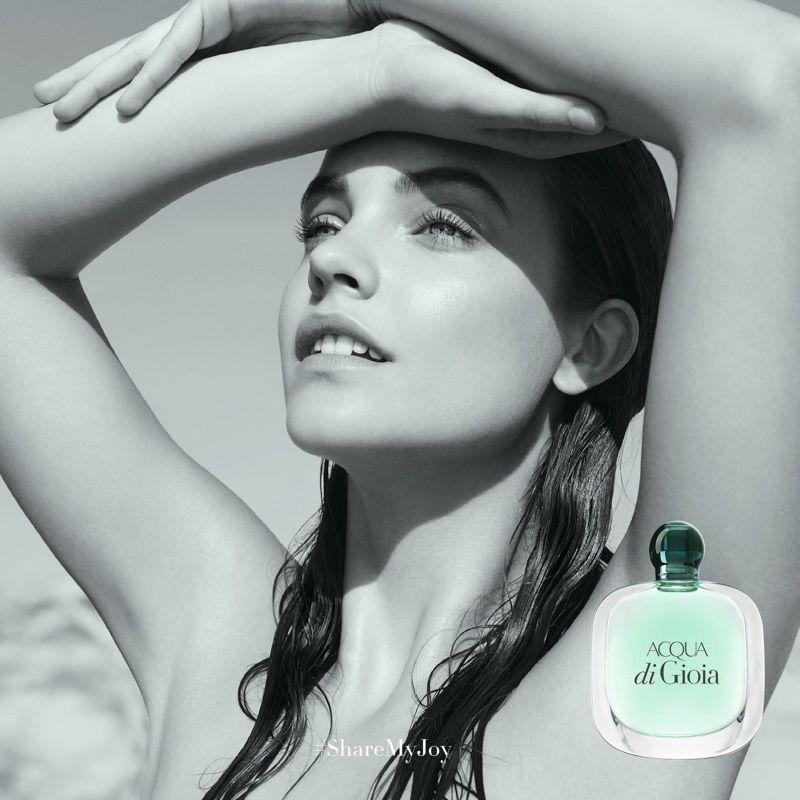 Armani acqua di gioia 2016 perfume campaign