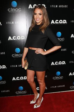 Jessica alba film premiere
