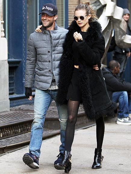 Behati prinsloo wearing allsaints in new york