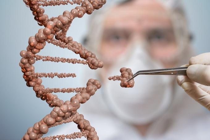 Imagem ilustrativa da terapia de engenharia genética Crispr/Cas9. Imagem: iStock