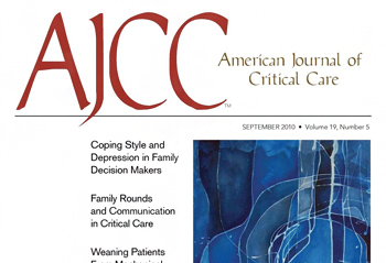 American Journal of Critical Care