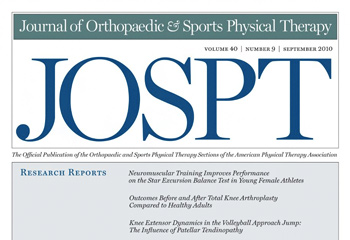 Journal of Orthopaedic & Sports Physical Therapy (JOSPT)