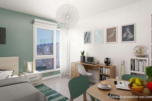 Investir résidence étudiante Brest
