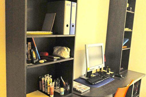 Studio meublé étudiant Villeurbanne (+ parking sous-sol)