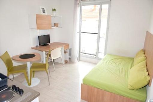 T2 meublé étudiant Villeurbanne (+parking sous-sol)