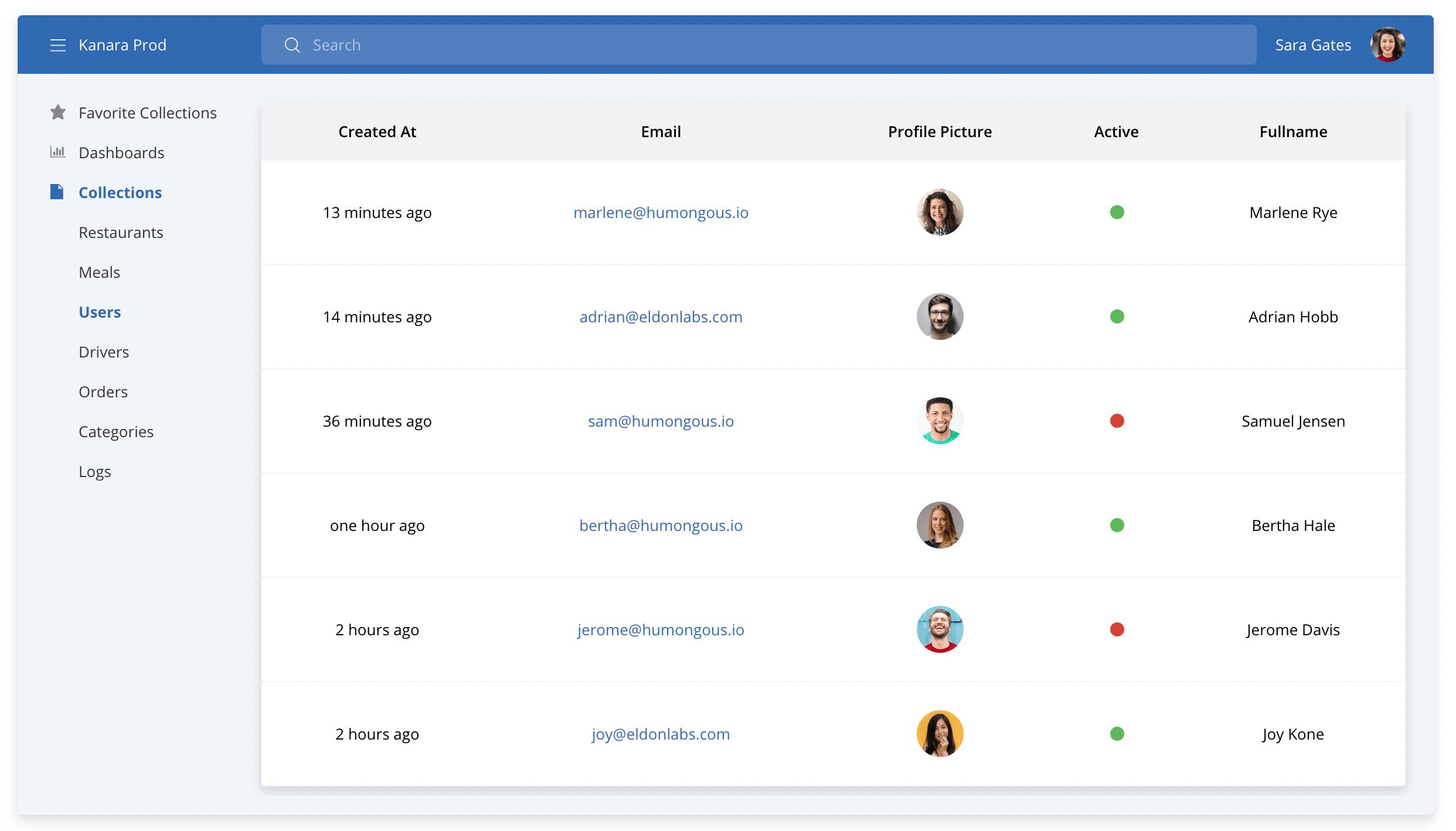 HumongouS.io MongoDB GUI Screenshot