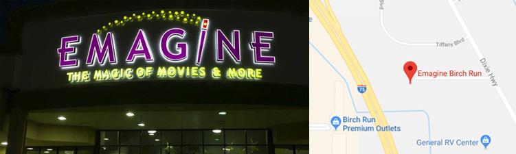 Birch Run Theatre Emagine Entertainment