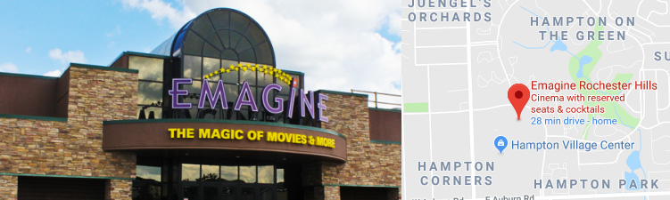 Rochester Hills Theatre | Emagine Entertainment