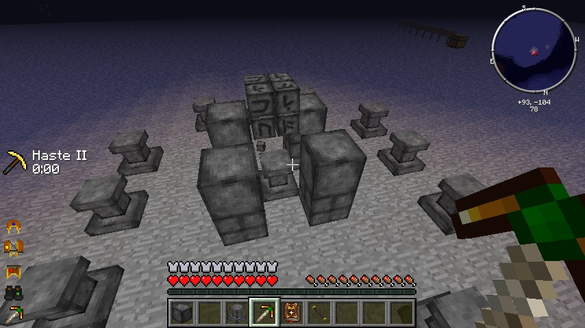 How To Build A Crafting Altar In Minecraft