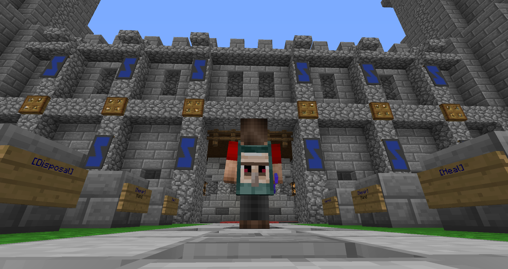 Profile - Minecraft Guild Clan Website Hosting DonationCraft