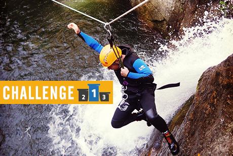 Challenge Canyon - Découverte