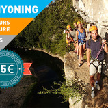 Chassezac adventure : canyoning and via corda