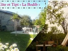 """Gîte et Tipi """"La Bodib"""""""