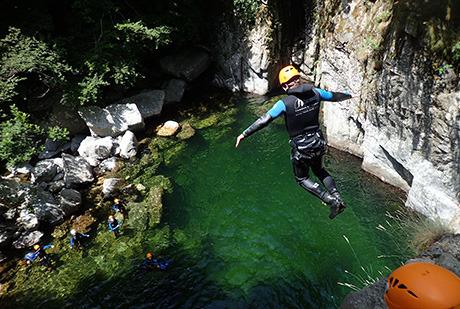 Canyon de la Borne supérieure