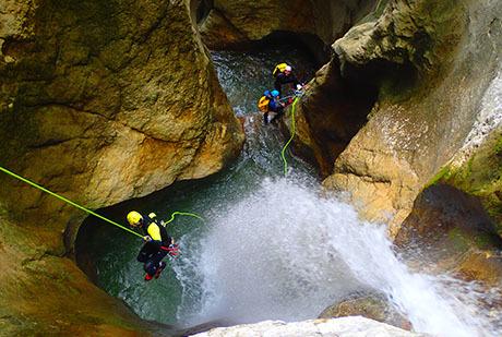 Canyons du Vercors Niveau 2 - 3 jours/2 nuits