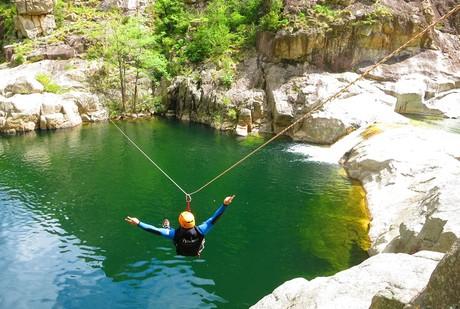 L'aventure en Ardèche pour les jeun's