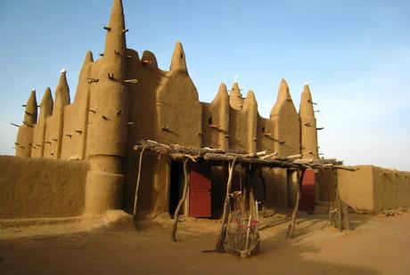 Mosquée du pays Dogon en banco