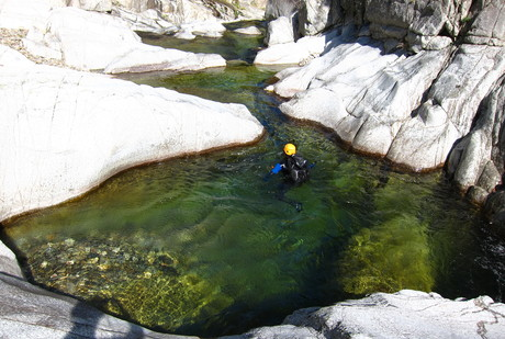 """Les belles vasques du Canyon """"facile"""""""