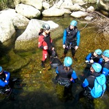 Demi-journée Canyoning