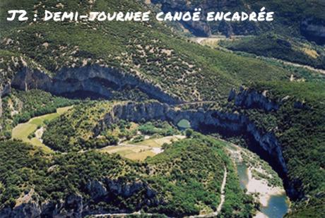 La combe d'arc, l'emplacement de la Grotte Chauvet