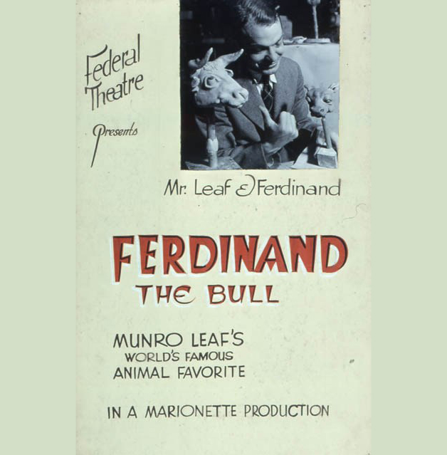 Ferdinand the Bull book cover